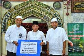 Rp500 juta zakat disalurkan Bank Sumut untuk pembangunan Masjid Agung