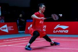 BWF Finals 2019: Jonatan tak bisa keluar dari tekanan Wang dan kalah