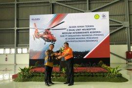PTDI serahterimakan dua unit helikopter ke Basarnas