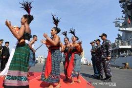 Dua kapal perang Indonesia tiba di Timor Leste jalani misi diplomasi