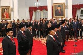 Presiden lantik 9 Wantimpres, satu diantaranya Wiranto
