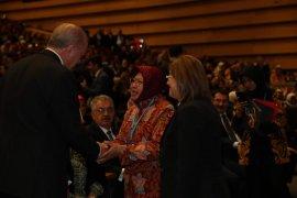 Bertemu Presiden Erdogan, Wali Kota Risma inspirasi perempuan Turki