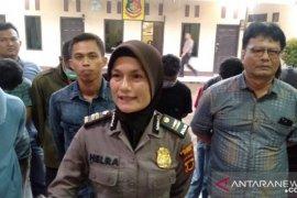 Polisi Jambi tangkap belasan pelaku pungli sopir truk