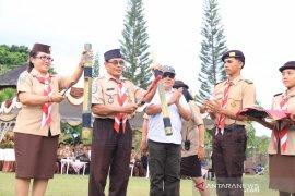 Bawaslu Bali adakan Perkemahan Bakti Pemilu di Tabanan