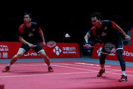 Hendra/Ahsan ke babak final BWF Finals 2019