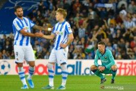 Liga Spanyol, Sociedad hentikan empat kemenangan beruntun Barcelona