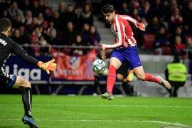 Liga Spanyol, Morata dan Saul antar Atletico ke peringkat keempat