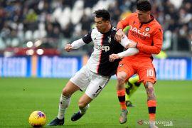 Juventus rebut puncak klasemen Liga Italia dari Inter Milan