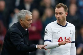 Jose Mourinho tidak senang dengan drama transfer Eriksen