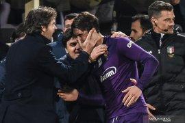 Liga Italia - Dusan  Vlahovic buyarkan harapan Inter raih kemenangan di markas Fiorentina