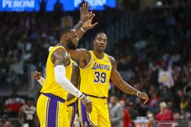 Basket, NBA - Hadapi Clippers di laga Natal, Lakers kemungkinan mainkan James