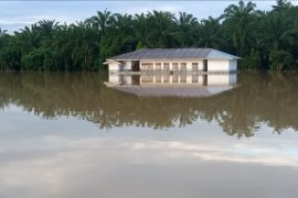 BPP Kecamatan Sirapit Langkat terdampak banjir