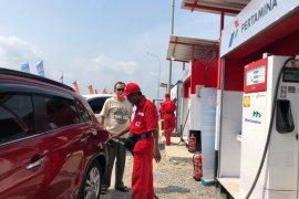 Pertamina tambah pasokan BBM jalur mudik Natal dan Tahun Baru di Kalbar