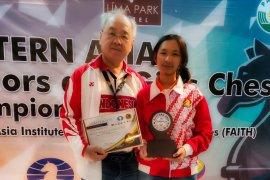 Pecatur junior Indonesia Ummi Fisabilillah raih norma WGM usai juara junior Asia Timur