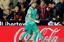 Liga Spanyol - Benzema selamatkan Real Madrid dari kekalahan