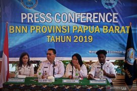 Bandar narkoba Papua Barat berada di Makassar dan Lampung