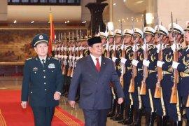 Prabowo dan Menhan China bicarakan peningkatan kerja sama hankam