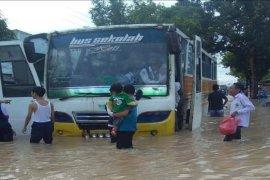 Hampir seluruh Kota Tebing Tinggi tergenang banjir