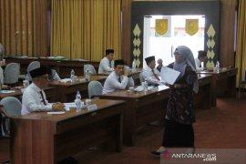 7 calon Sekdaprov Bengkulu jalani tes
