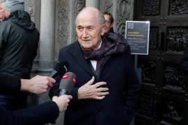 FIFA gugat Sepp Blatter dan Michel Platini ke pengadilan