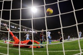 Lazio menang  2-1 atas Cagliari