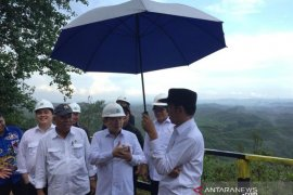 7 Menteri dampingi Presiden Jokowi tinjau lokasi ibu kota negara baru