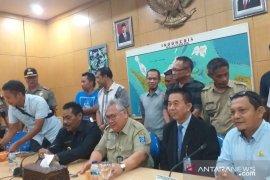 Kericuhan Satpol PP Babel dengan penambang di Belitung berakhir damai