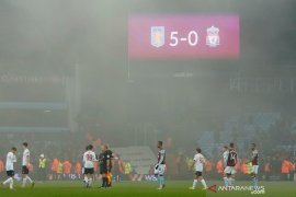 Aston Villa lumat Liverpool 5-0 untuk ke semifinal Piala Liga