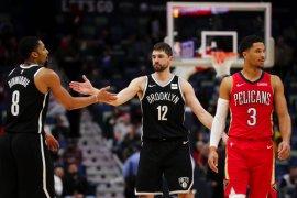 Nets paksa Pelicans telan kekalahan