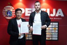 Persija perpanjang kontrak striker Marko Simic selama tiga tahun