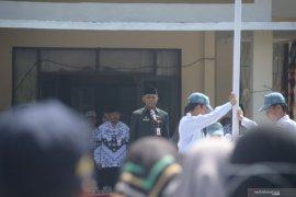 Penjabat Sekda pimpin upacara HUT ke-74 PGRI