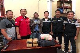 Bawa ganja dari Aceh tujuan Belawan, Saiful ditangkap Polisi Langkat