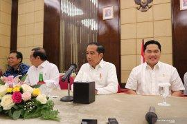 Presiden Jokowi sebut sebagian nama yang diusulkan jadi Dewan Pengawas KPK