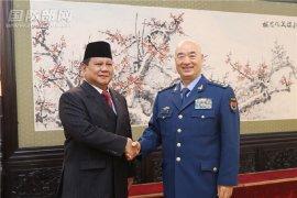 Menhan Prabowo lakukan kunjungan kehormatan Wakil Ketua Komisi Militer China