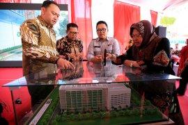 Risma minta pembangunan gedung baru RSUD Soewandhie Surabaya tepat waktu