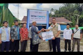 Yayasan Baitul Mal PLN Kalbar bangun desa mandiri