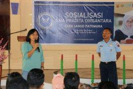 Lanud Pattimura Ambon sosialisasi SMA Pradita Dirgantara