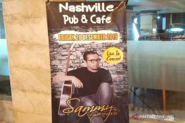 Sammy Simorangkir jadi hiburan tutup tahun di Nashville Pub & Cafe