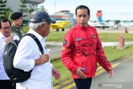 Jokowi akan tinjau jalan perbatasan di Kaltara