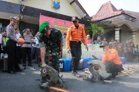 Jumlah kasus kecelakaan di Kota Madiun turun selama 2019