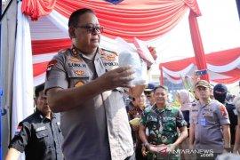 28 kilogram shabu-shabu dimusnahkan Polda Jawa Timur