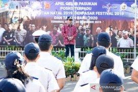 Jelang Natal-Tahun Baru, Pemkot Denpasar adakan apel pasukan posko terpadu