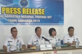 BNNP ungkap 10 kasus narkoba di NTT pada 2019 dengan 14 tersangka