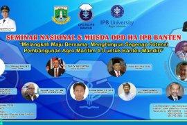 DPD Alumni IPB dorong pembangunan Agro- Maritim 4.0 untuk Banten Mandiri