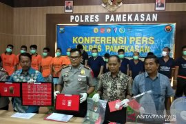 14 tersangka kriminal ditangkap Polres Pamekasan