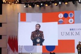 Presiden Joko Widodo ungkap ekspor Indonesia didominasi pengusaha besar
