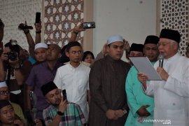 Najib Razak sumpah laknat  di masjid