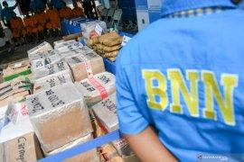 BNN Sumut ungkap 71 kasus dengan 106 tersangka sepanjang 2019