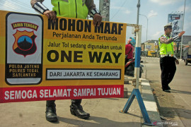 180 ribu lebih kendaraan tinggalkan Jakarta pada H-5 Natal
