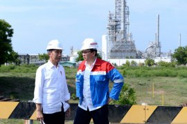 Jokowi targetkan kilang Petrokimia TPPI selesai dalam 3 tahun